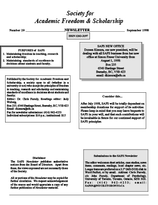Z:DaniellaCliveClive -SAFSNewsletter20.wpd